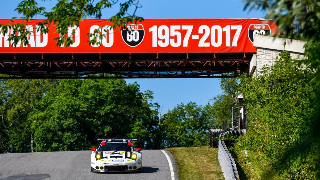 Sixth place for Porsche