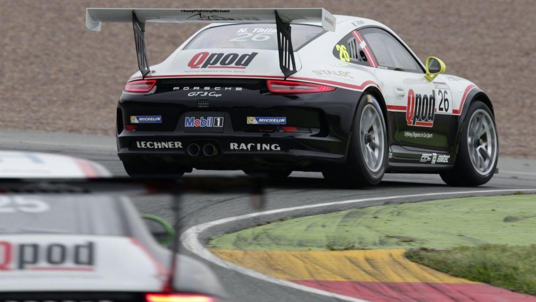Porsche Carrera Cup Deutschland, Sachsenring, Day 3, More points