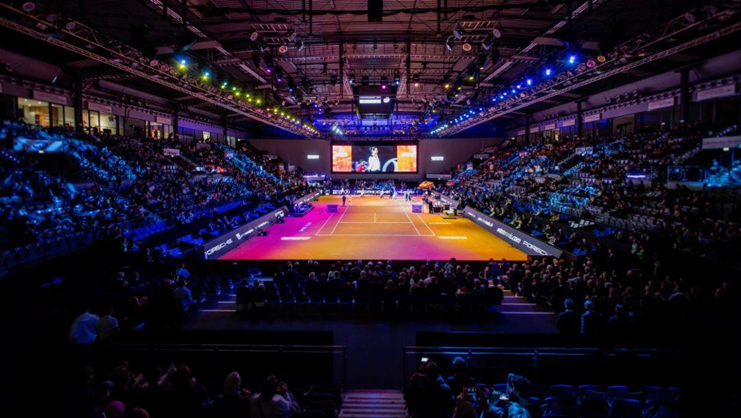 Porsche Tennis Grand Prix: Top sport and excellent entertainment