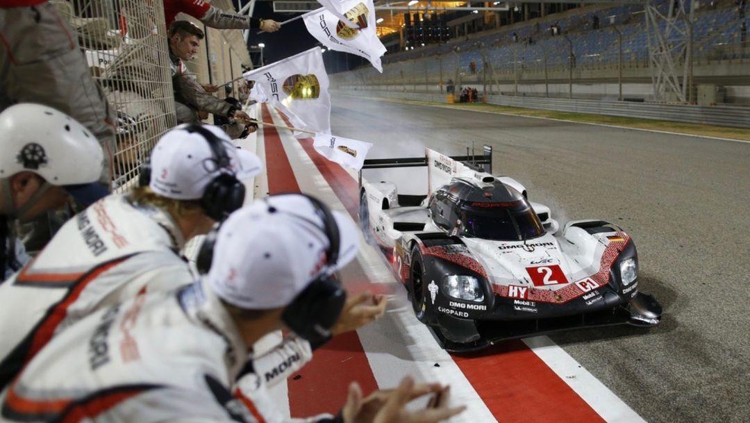 919 Hybrid, Bahrain, Rennen, 2017, Porsche AG