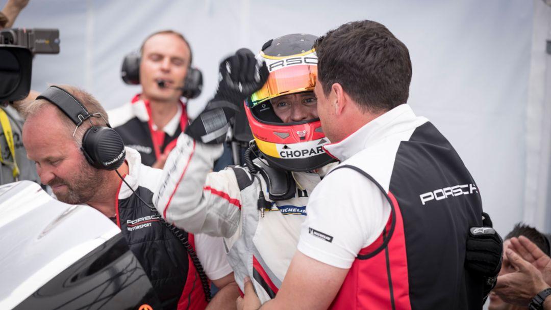 Timo Bernhard, Porsche Team, Nürburgring, 2018, Porsche AG