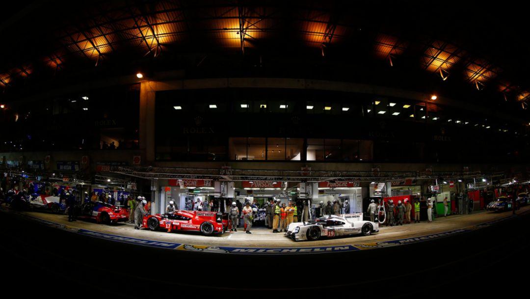 Le Mans: Porsche startet von 1, 2, 3