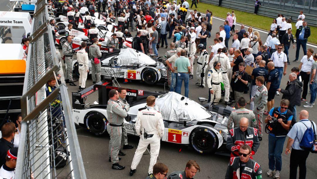 919 Hybrid, WEC, Nürburgring, 2016, Porsche AG
