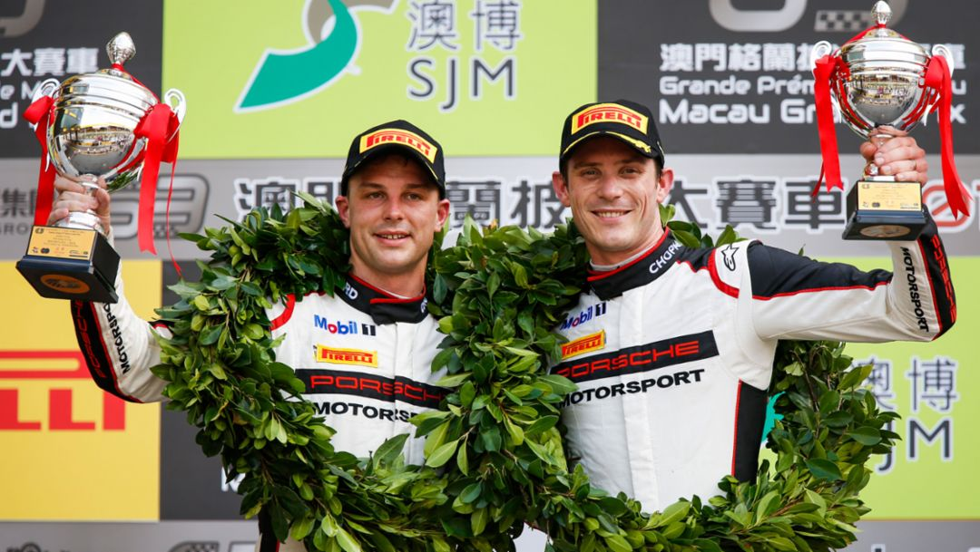 Double podium for Porsche