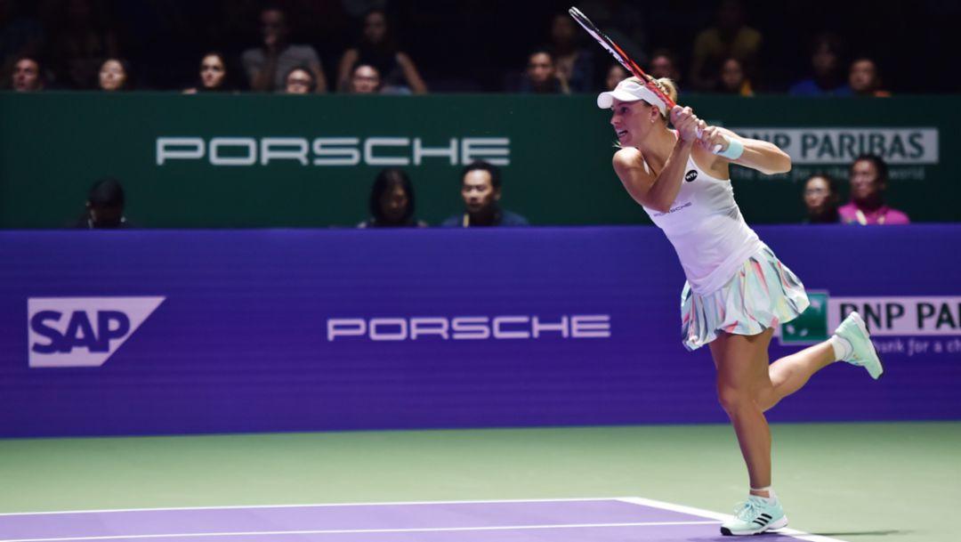 WTA-Finale: Kerber gewinnt Auftaktmatch