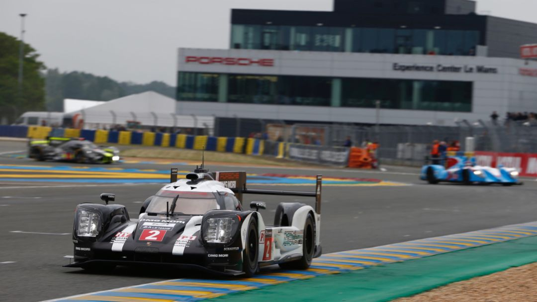 Successful test for Le Mans