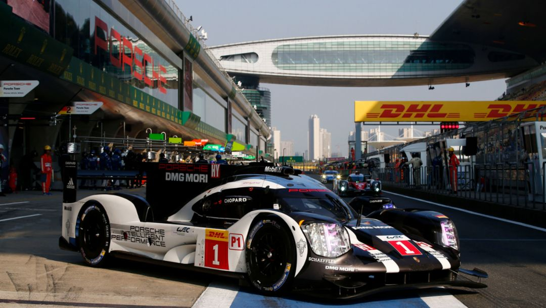 Porsche 919 Hybrid takes pole position