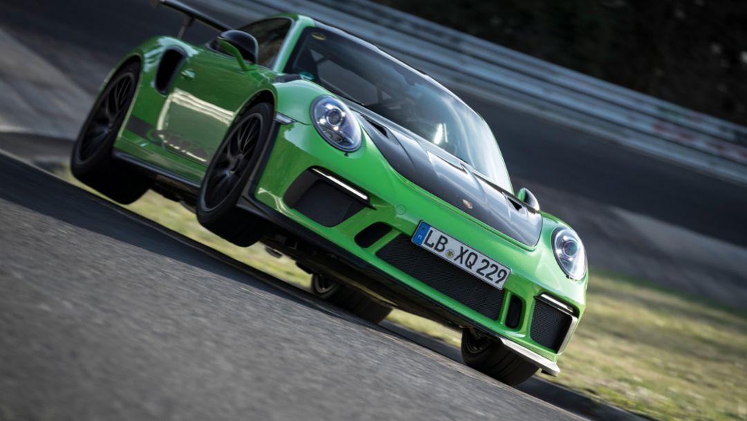 911 GT3 RS, Nürburgring-Nordschleife, 2018, Porsche AG