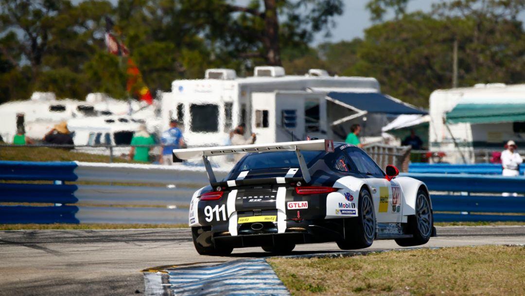 Porsche 911 RSR, Sebring, IMSA WeatherTech SportsCar Championship, 2016, Porsche AG