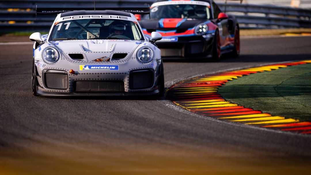 911 GT2 RS Clubsport, Porsche Racing Experience by Manthey-Racing (11), Porsche Motorsport GT2 Supersportscar Weekend, Spa-Francorchamps, 2019, Porsche AG