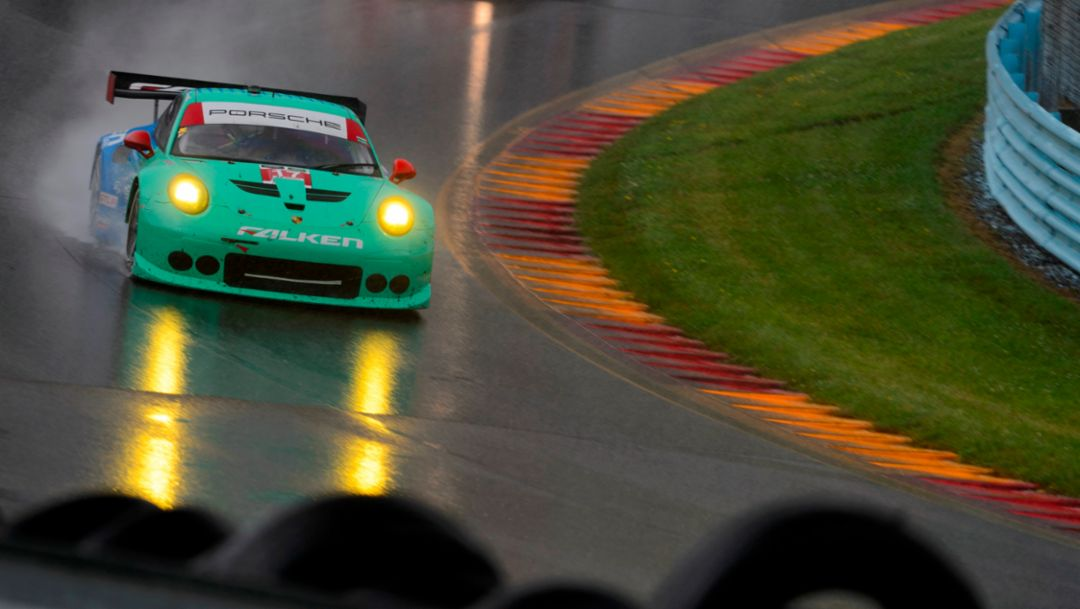 Double victory for Porsche in Watkins Glen