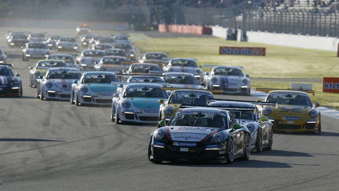 Porsche Carrera Cup Deutschland, Hockenheimring, 2014, Porsche AG