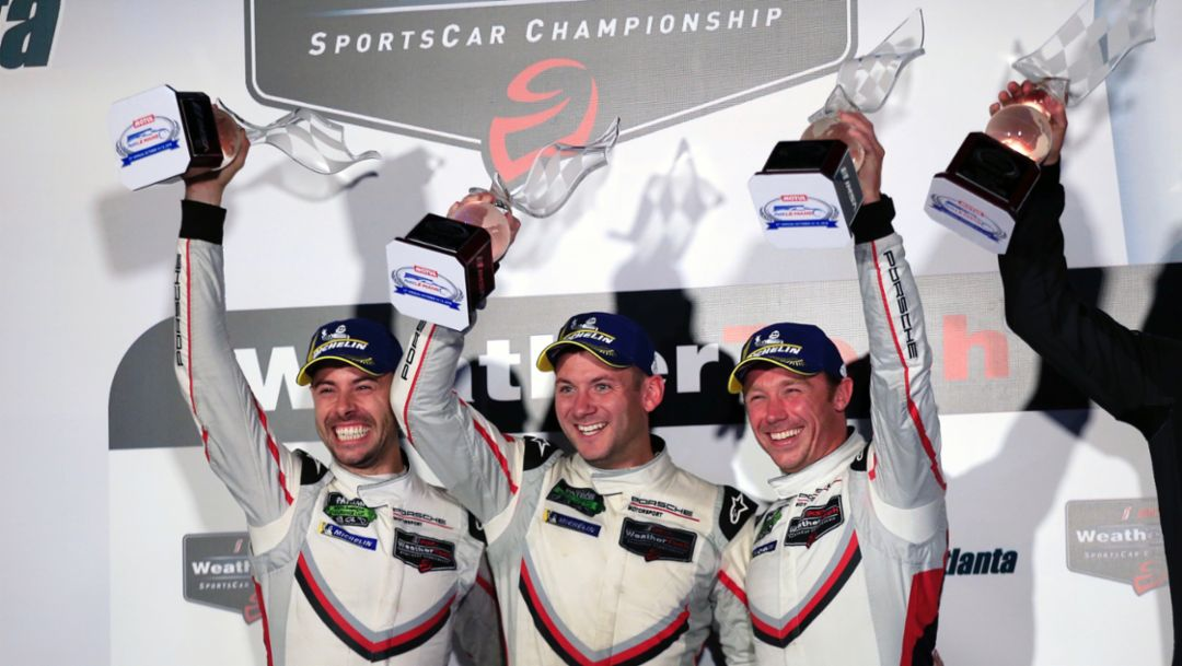 IMSA Saisonabschluss: Porsche gewinnt Petit Le Mans