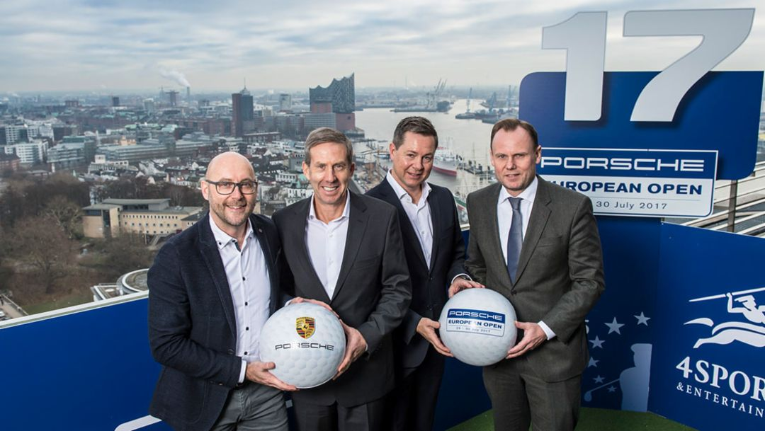 Golf: Porsche extends title sponsorship