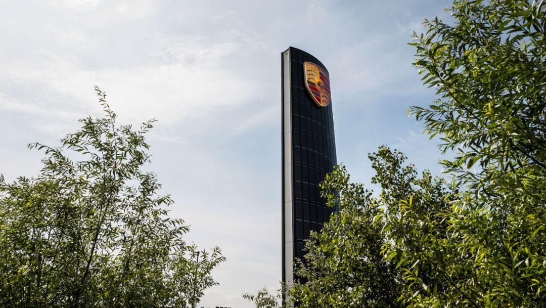 Solarpylon, Porsche Zentrum Berlin-Adlershof, 2017, Porsche AG