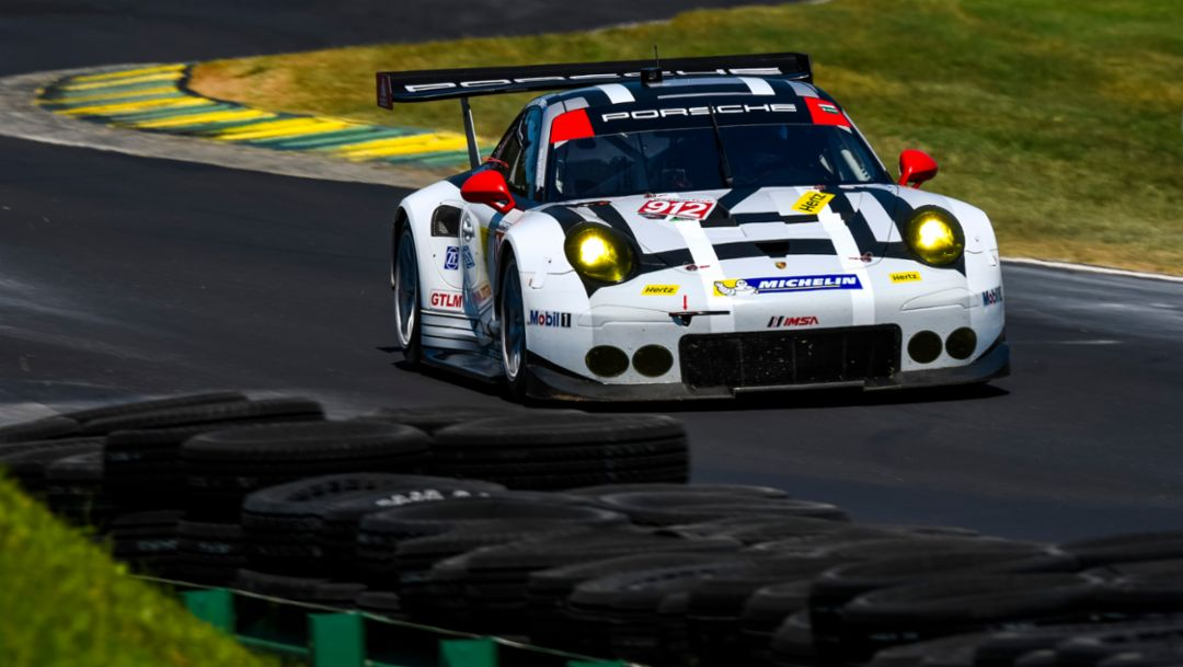 911 RSR back on the podium
