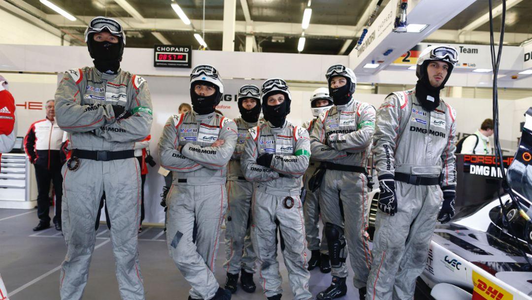 Porsche Team, Silverstone, 2016, Porsche AG