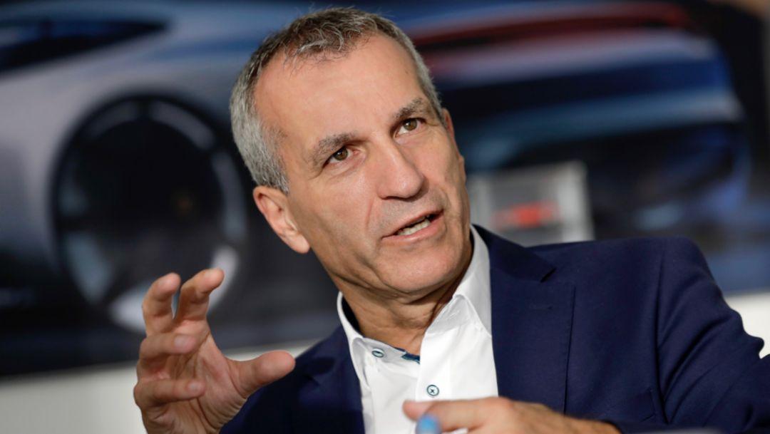 Albrecht Reimold, Mitglied des Vorstands für Produktion, 2019, Porsche AG