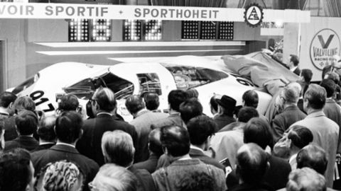 Welche Porsche in Genf das Licht der Öffentlichkeit erblickten