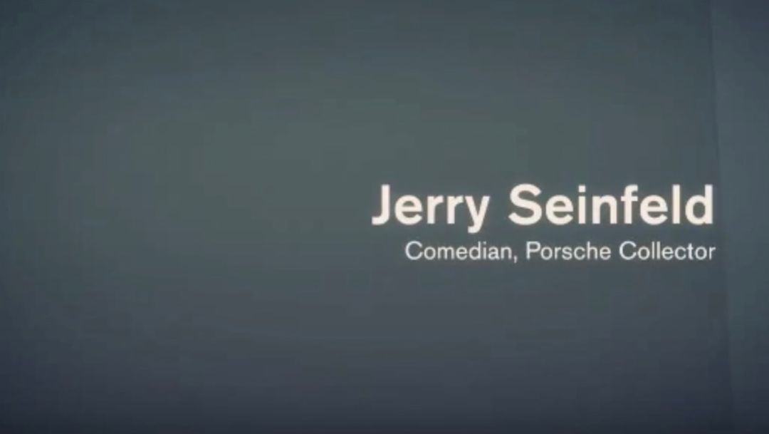Just a Car Guy – Jerry Seinfeld talks about his love of Porsche