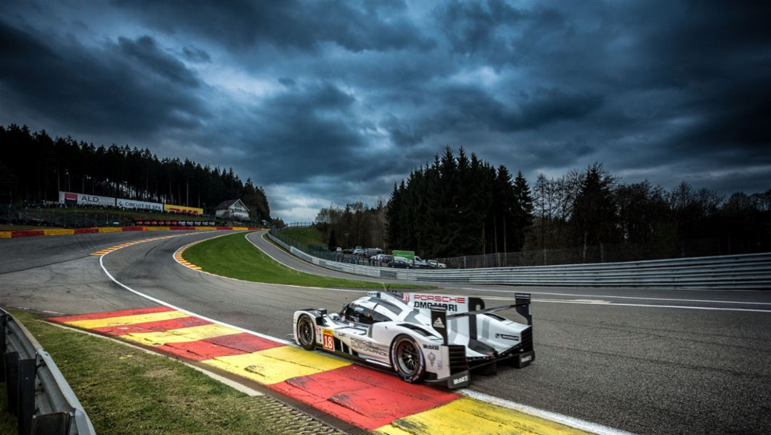 Four podiums in Spa