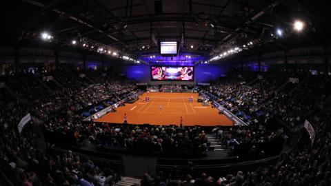 WTA stars at the Porsche Tennis Grand Prix