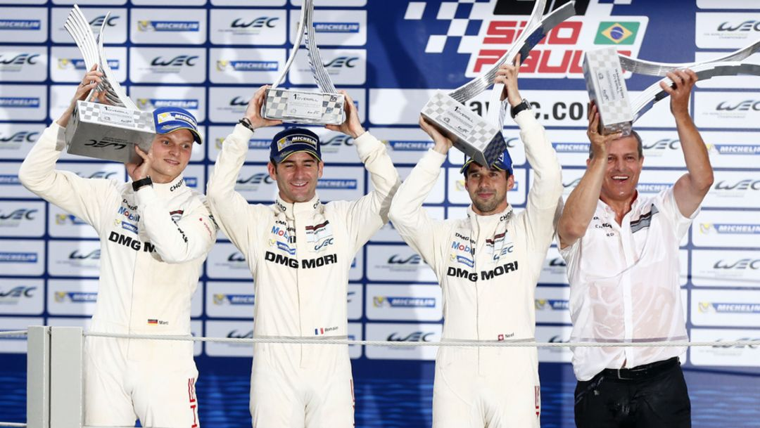 First win for the 919 Hybrid