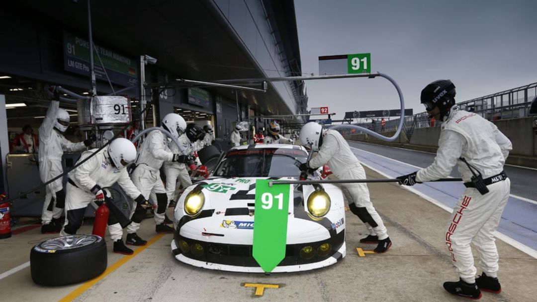 911 RSR: A look at the team