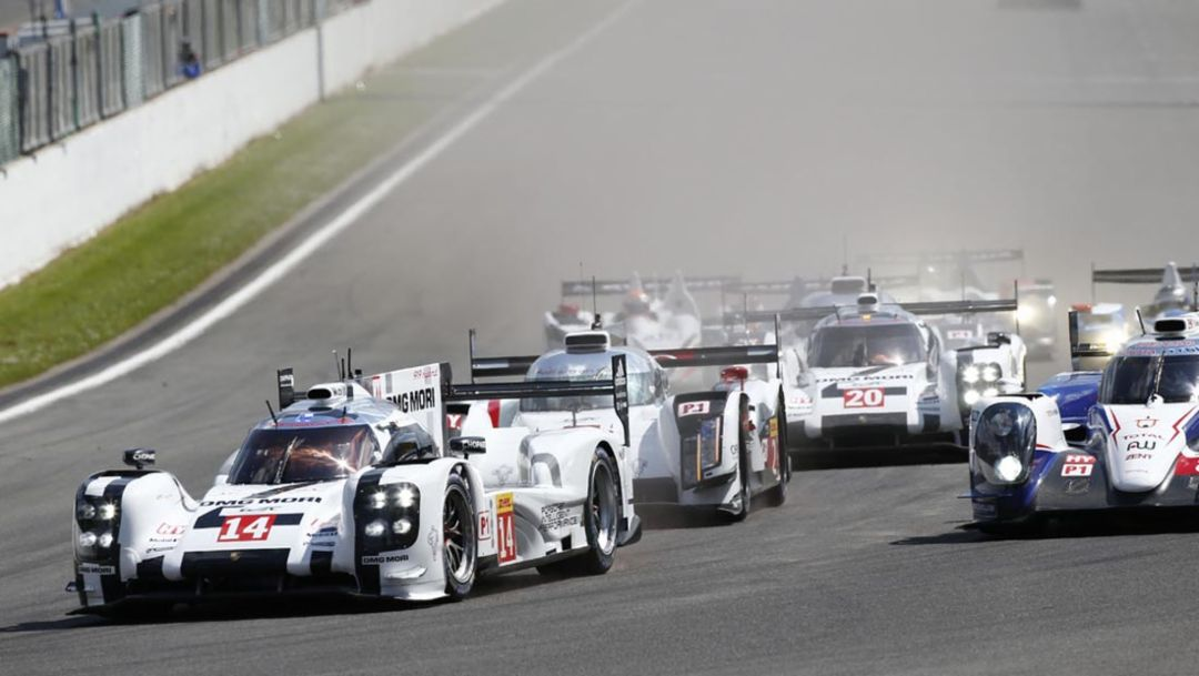 Incidents and remarkable charge in Spa