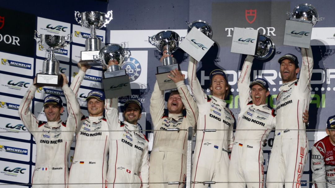 Porsche secures World Championship title