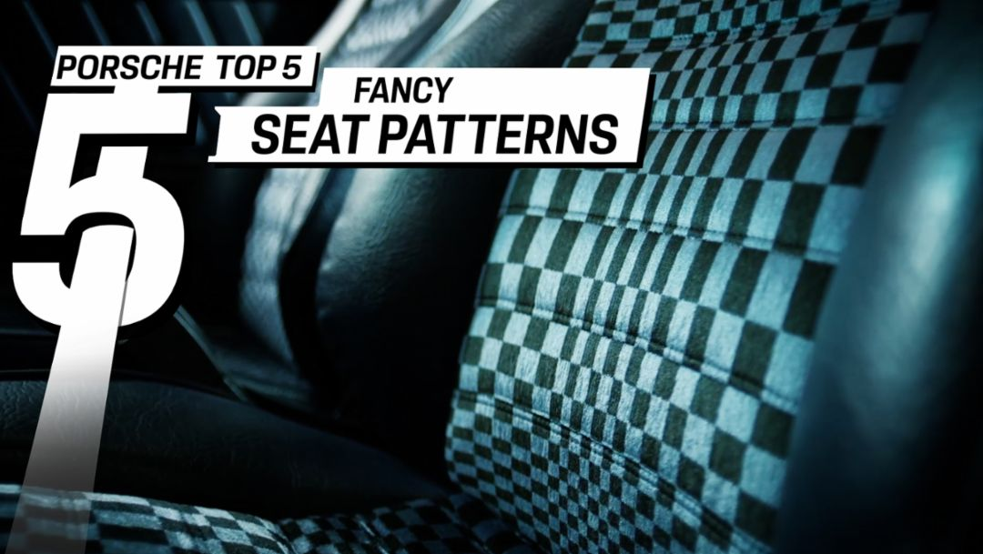 Porsche Top 5 – The most famous Porsche seat designs