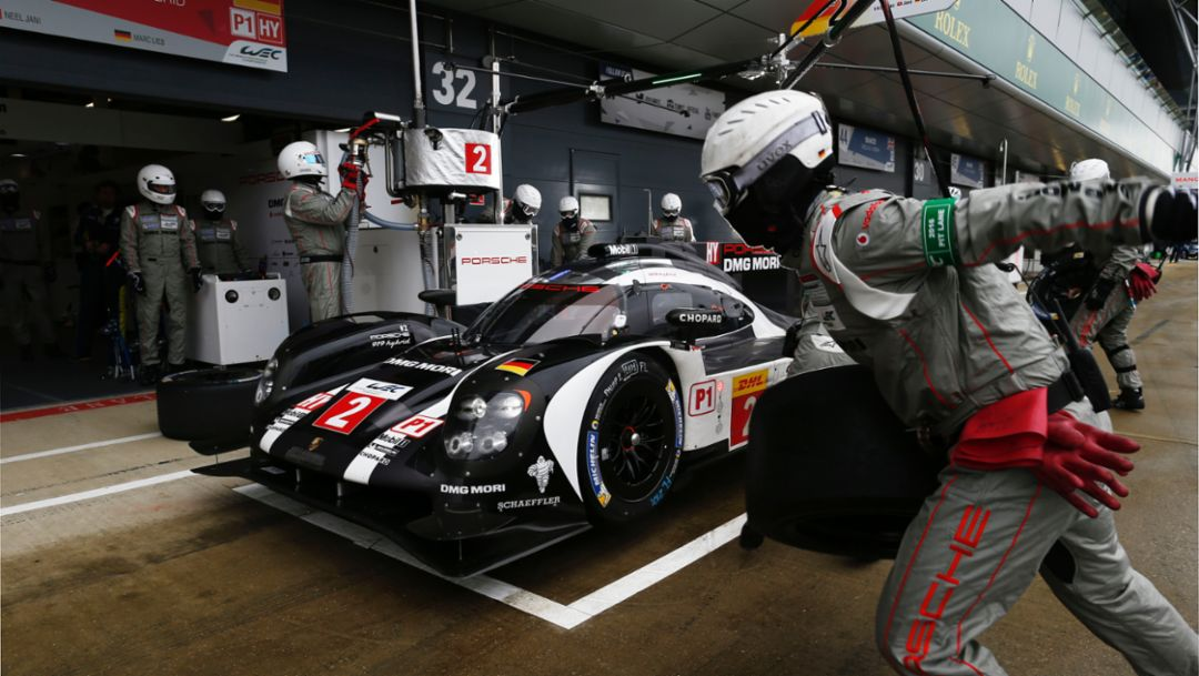 Porsche 919 Hybrid benefits from efficiency