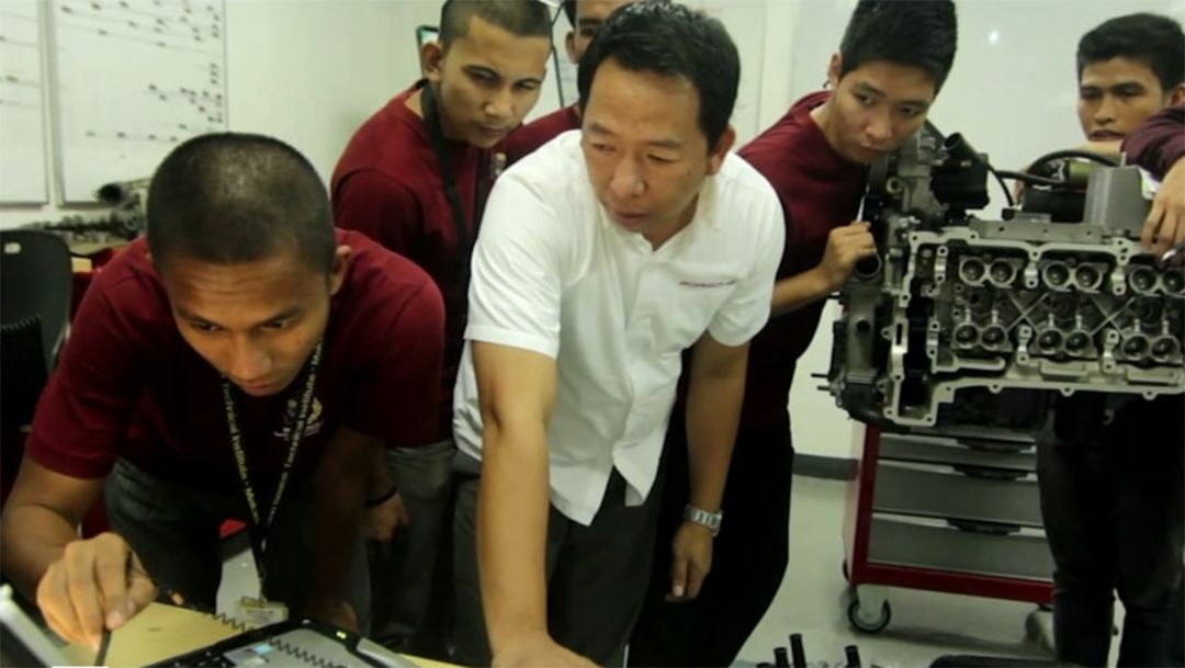 Porsche Training and Recruitment Center Asia. A Story of success.
