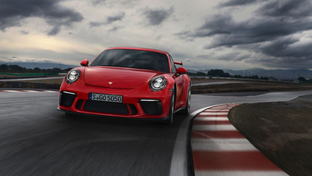 The new 911 GT3