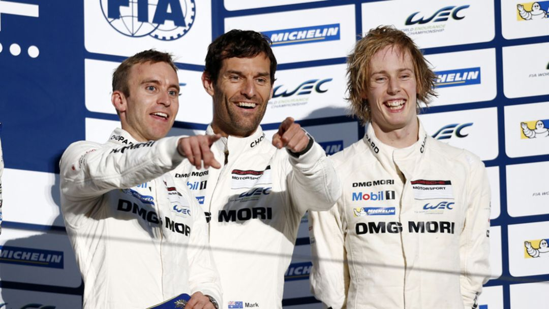 Podium finish for the Porsche 919 Hybrid