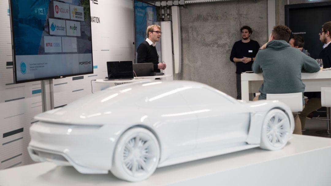 Digital workshop, 2018, Porsche AG