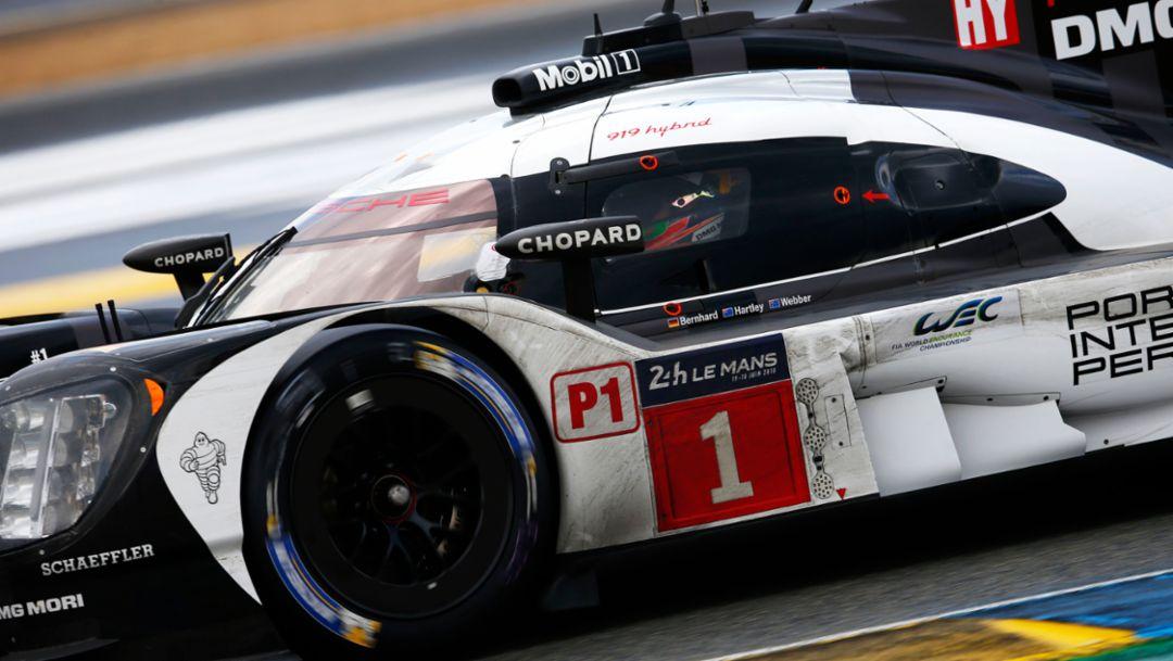 919 Hybrid, WEC, Le Mans, 2016, Porsche AG
