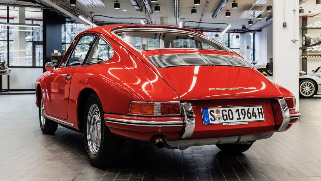 """911, """"Scheunenfund"""", 2017, Porsche AG"""