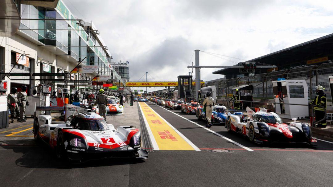 919 Hybrid, WEC, Qualifying, Round 4, Nürburgring, 2017, Porsche AG
