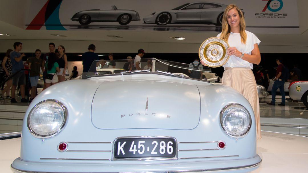 Angelique Kerber, Porsche-Markenbotschafterin, Pressekonferenz, Porsche Museum, 2018, Porsche AG