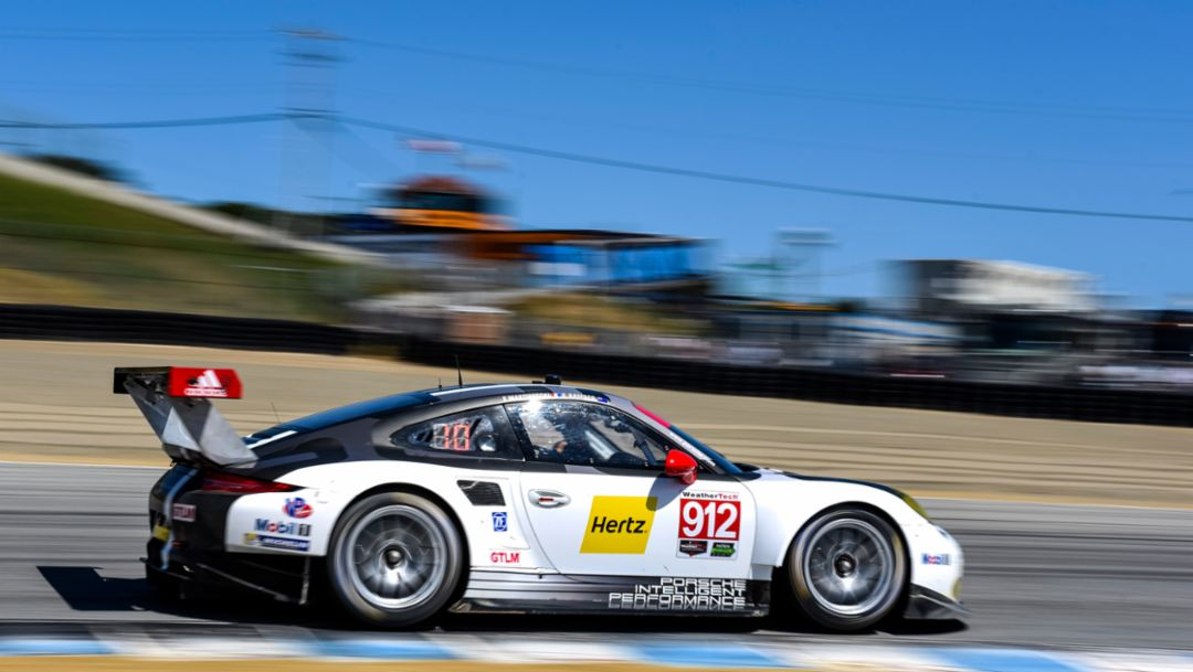 Fourth consecutive podium for 911 RSR