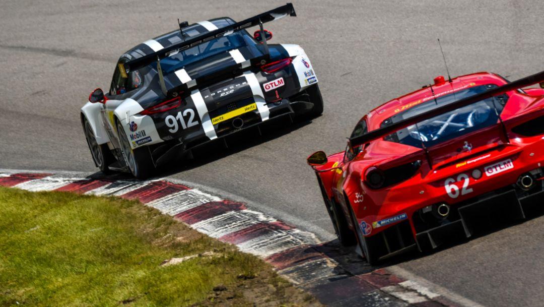 Bester Porsche auf Platz sechs