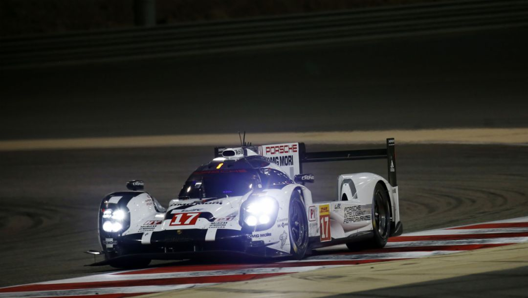 Porsche 9191 Hybrid, WEC Bahrain 2015, Porsche AG