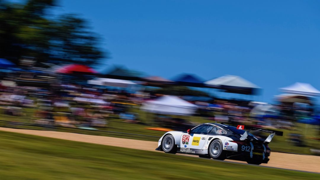 Petit Le Mans: Fifth place for the 911 RSR