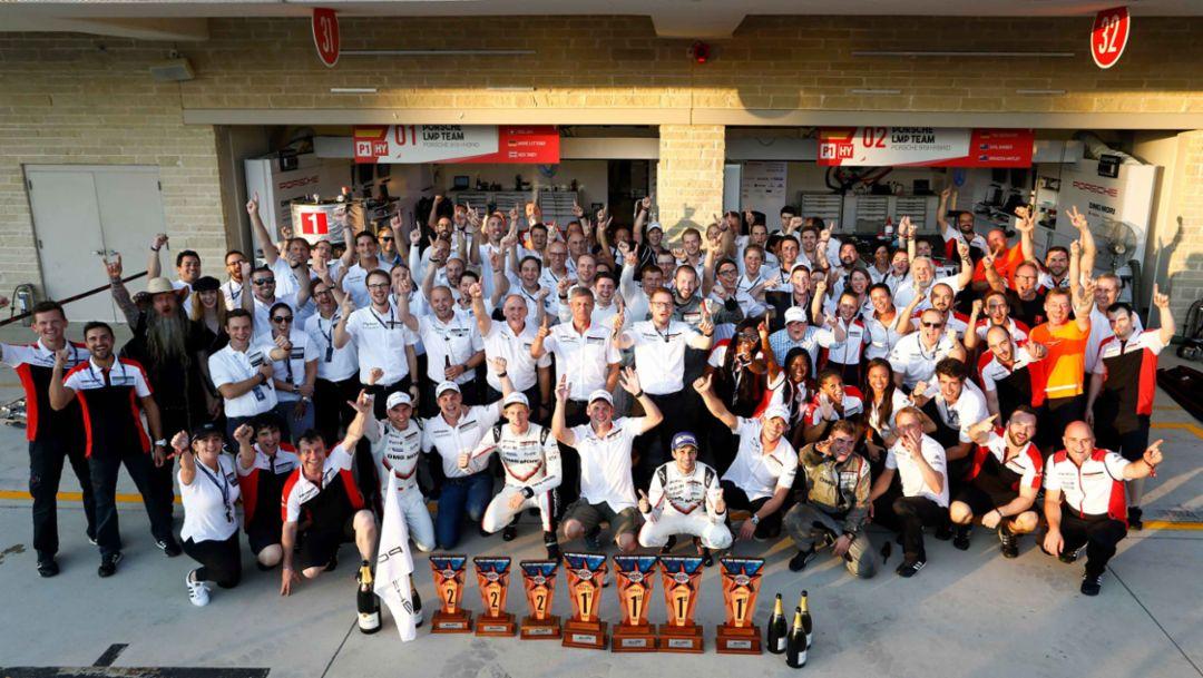 Porsche LMP Team, WEC, Rennen, Austin, 2017, Porsche AG