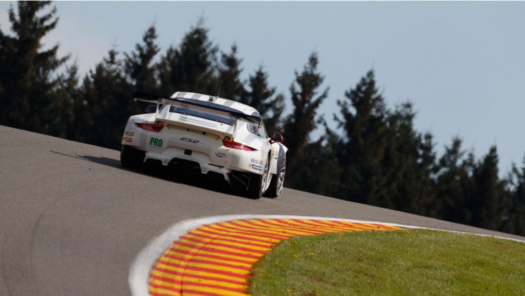 911 RSR: new driver pairings in Spa
