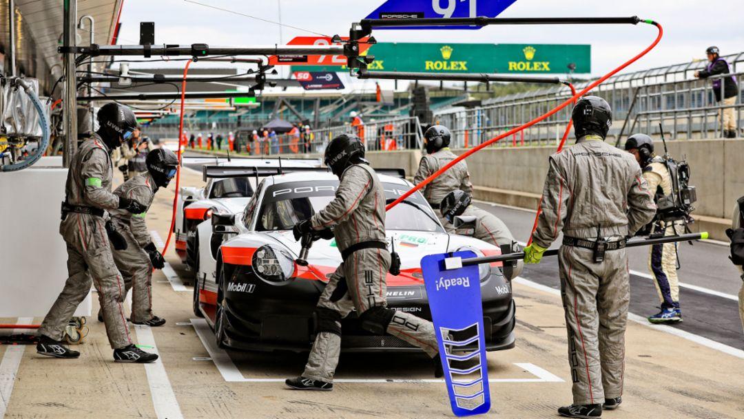 911 RSR, Qualifying, Silverstone, FIA WEC, 2018, Porsche AG