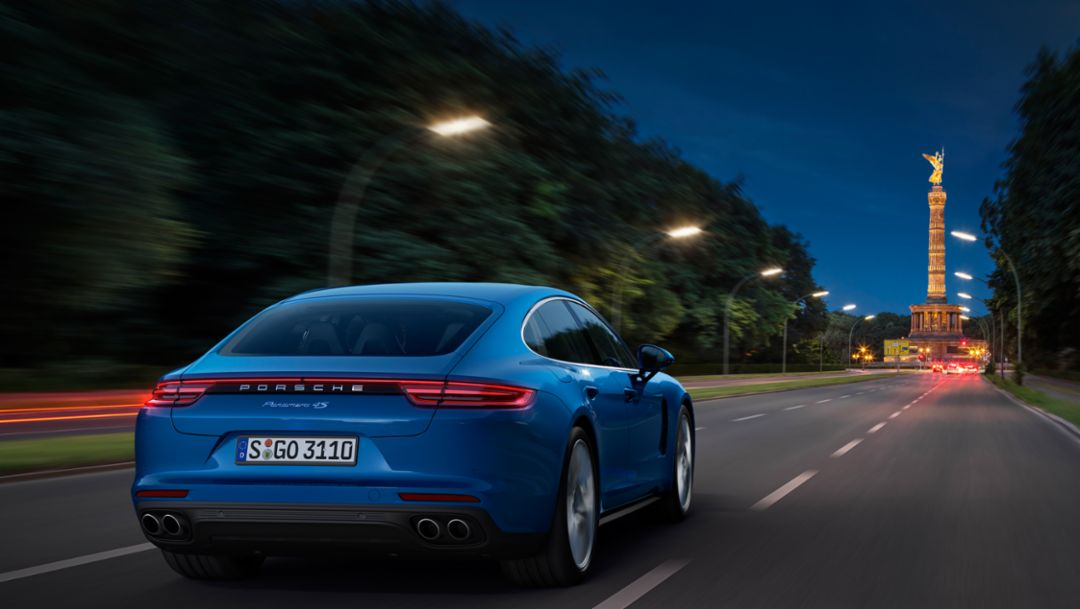 World premiere of the new Panamera