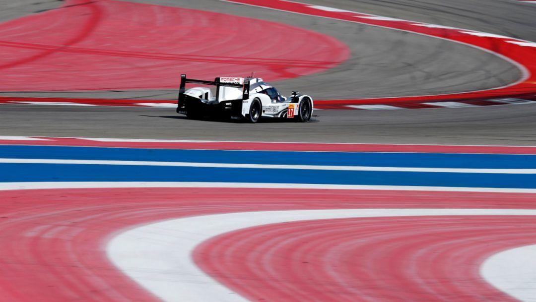 Erste Startreihe für Porsche in Austin