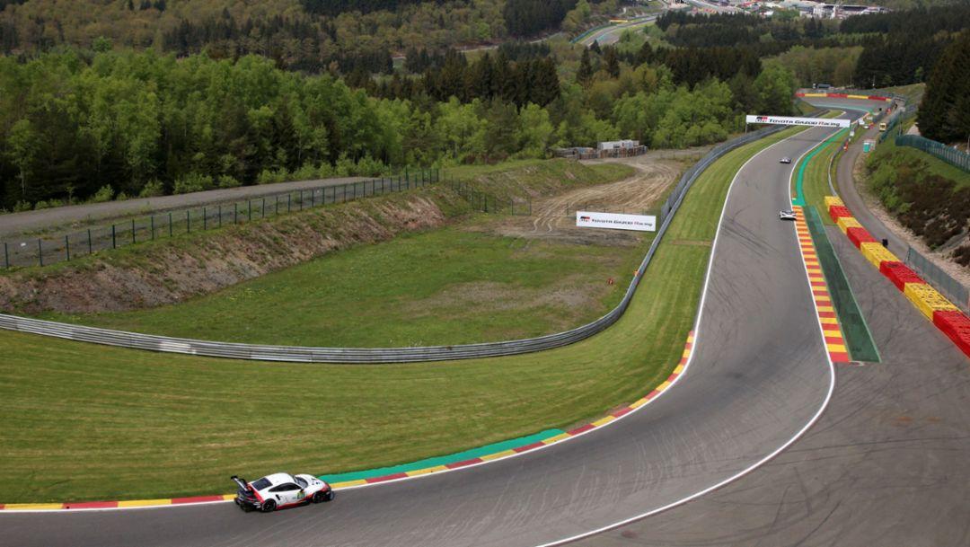 911 RSR, freies Training, Spa-Francorchamps, FIA WEC, 2018, Porsche AG